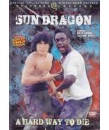 Sun Dragon aka A Hard Way to Die DVD Billy Chong, Carl Scott kung fu mar... - $23.50