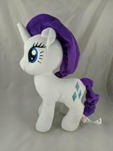 "My Little Pony White Unicorn Rarity Purple Mane Diamonds 13"" Stuffed Animal Toy - $28.89"