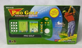 MGA Pro Golf Electronic LCD Video Game Dual Screen With Zipper Case - $14.36