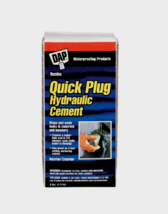 New!! Dap Bondex QUICK PLUG Hydraulic & Anchoring CEMENT Gray 5 Min. 5 l... - $23.99