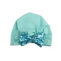 2017  Hat Knitting Sequin Bowknot Hat Bows Cap Bohemia India Turban Hats... - $7.74