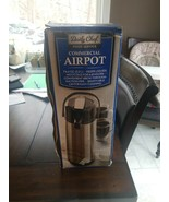 Daily Chef Stainless Steel 2.2 L Airpot w/Lever - $19.80