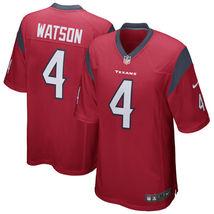 Men's Houston Texans Deshaun Watson Red 2017 Draft Pick Game Jersey - $33.00