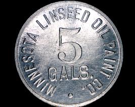 Vintage Minnesota Linseed Oil Paint Co Token - $6.99
