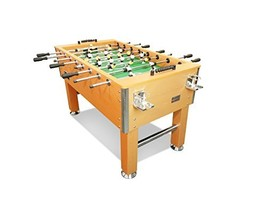 "T&R sports 60"" Soccer Foosball Table Heavy Duty for Pub Game Room (5FT Oak) - $589.74"