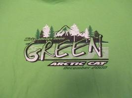 Arctic Cat Weve always been Green Dec 2000 4 Stroke T Shirt Size L - $10.99