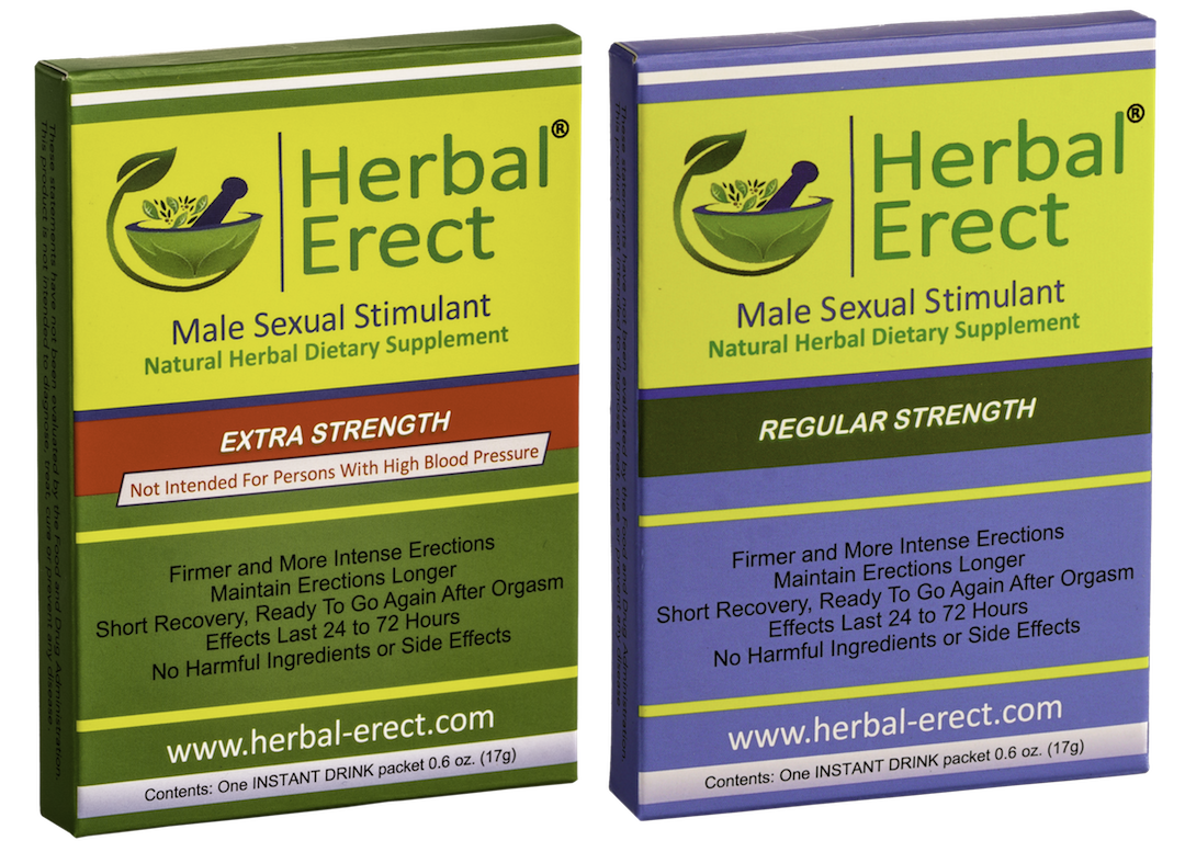 Primary image for Herbal Erect - COMBO PACK (Regular Strength & Extra Strength)