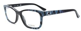 GUESS GU2553 005 Women's Eyeglasses Frames 53-16-135 Black w/ Sparkles +... - $64.15