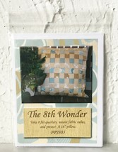 """The 8th Wonder 16"""" Pillow Pattern - Easy to Weave Fat Quarters Pillow 16... - $5.65"""
