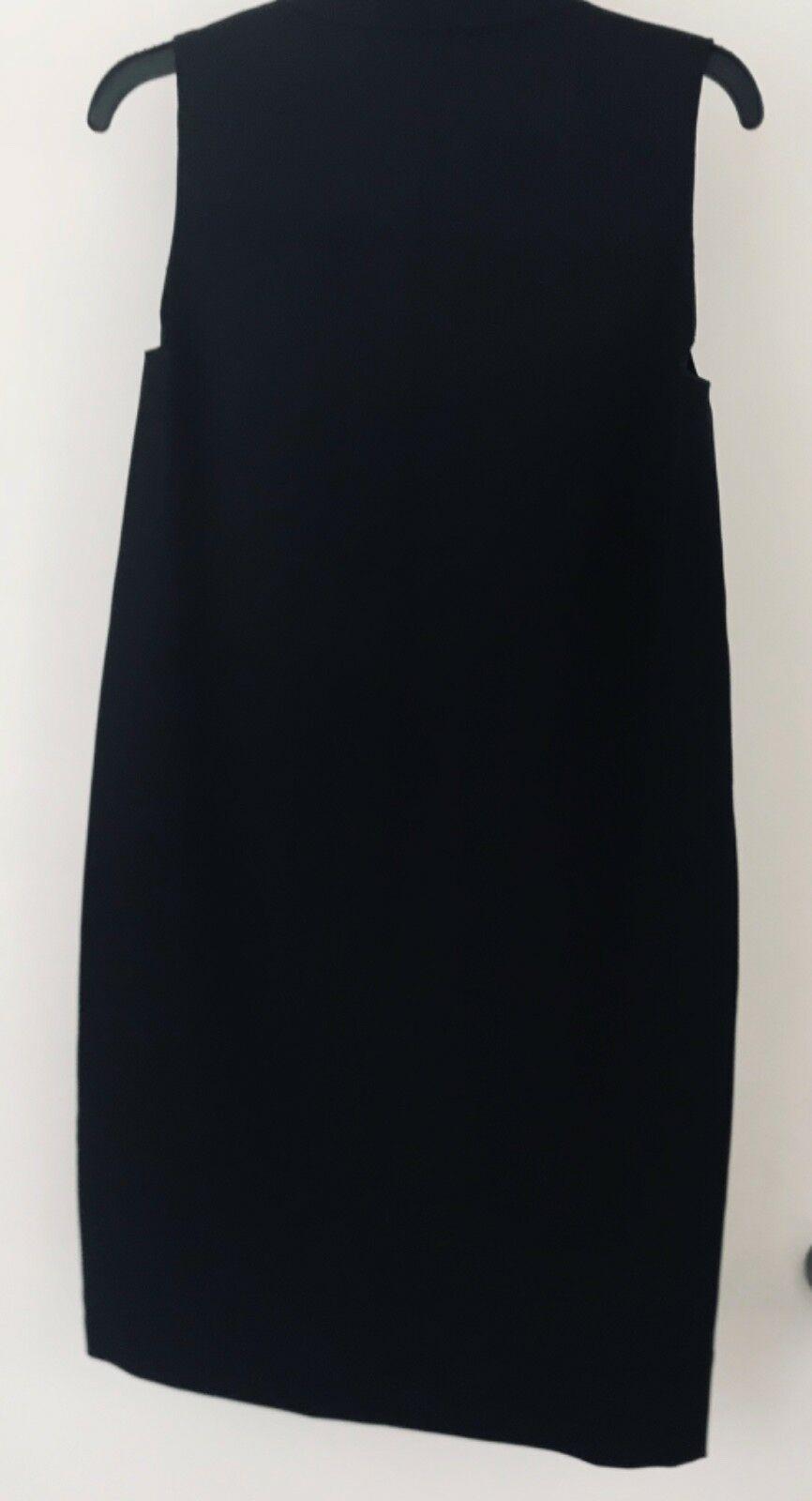Anne Klein Womens Black Dress Size S Draped necklineNWT