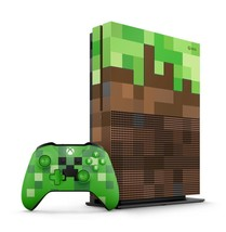 New Xbox One S Console 1TB Minecraft Limited Edition (23C - 00017) Japan - $598.99