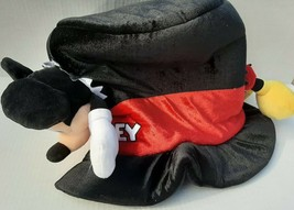 Disney Parks Mickey Mouse Plush Top Hat Adjustable - $21.33