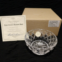 Collectible Lenox Collections Crystal Diamond Bowl 3.5 090346 Clear NEW ... - $20.00