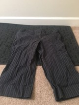 Ann Taylor Loft Petites Casual Capri Striped Pants Sz 10P Clothes - $28.71