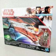 Star Wars Resistance A-Wing Fighter Red Squadron Force Link 2.0 Vehicle ... - $29.95