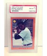 1991 Manny Ramirez Little Sun Rookie Card PSA NM-MT 8 - $24.99