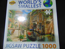 Worlds Smallest Puzzle 1000 Pieces Cheatwell- Sealed - $14.84