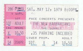 The New Barbarians 5/12/79 Houston Ticket Stub! Keith Richards Rolling S... - $24.99