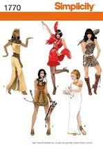 Simplicity 1770 Misses' Costumes K5 (8-10-12-14-16) - $13.48