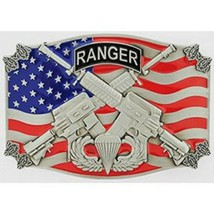 United States Army Airborne Ranger Military Belt Buckle - $18.80