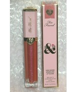 Too Faced Crazy Rich Dazzling High Shine Sparkling Lip Gloss  - $12.75