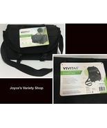 "Vivitar Carry On Gadget Bag Black 11"" x 6"" x 6"" Adj Strap Easy Clasp Cam... - $15.99"
