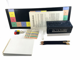 1985 Pictionary Board Game. Complete Set. - $32.18