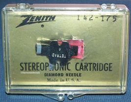 Genuine ZENITH 142-175 TURNTABLE PHONOGRAPH CARTRIDGE NEEDLE Tetrad A image 3