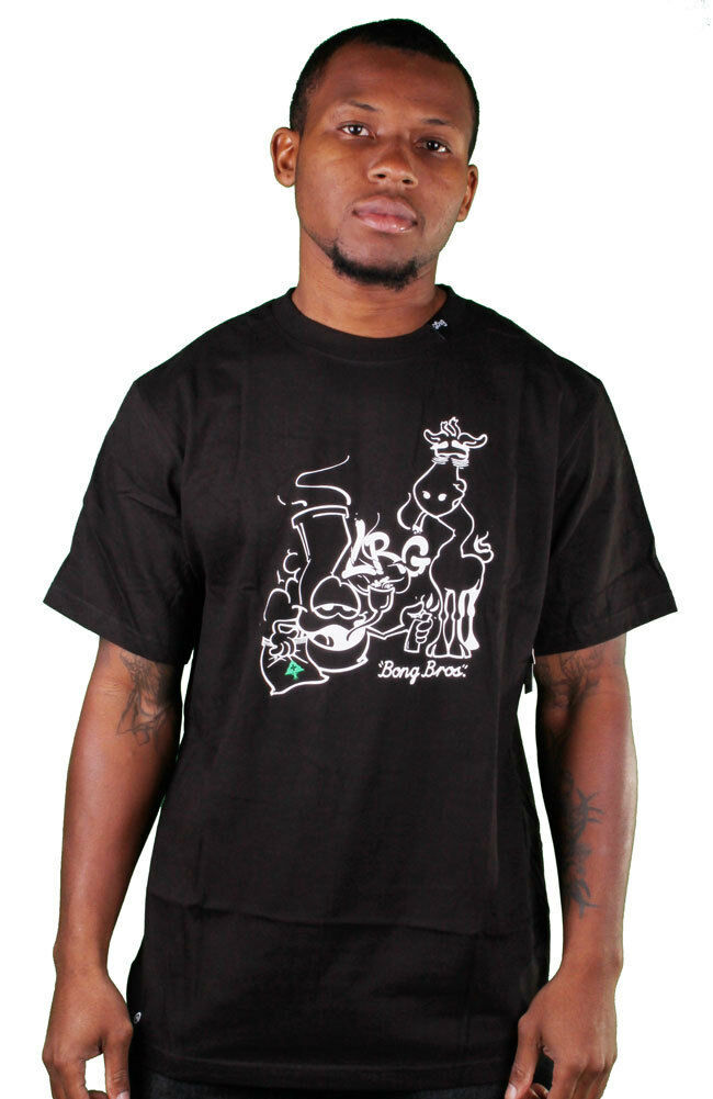 LRG Black Bong Bros T-Shirt