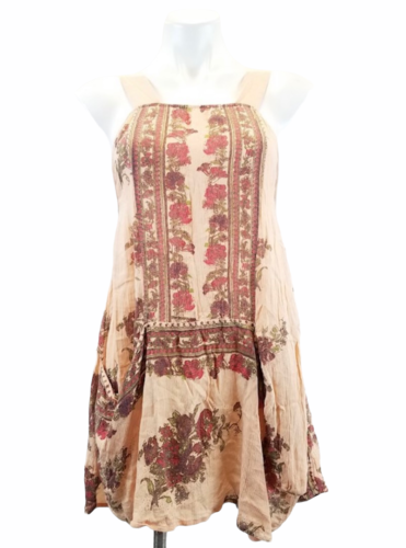 Free People Women's Floral Tunic Sleeveless Summer Dress Top Size XS