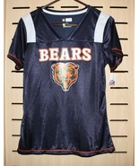 Chicago Bears Shirt ~  Womens  Size Large ~ Glitter Graphics ~ Still Has... - $28.46