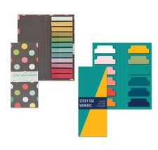 Bundle of Sticky Tab Notes, Total of 1080 Colored Sticky Tabs Self Stick... - $13.20