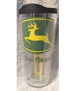 John Deere Clear 24oz Tervis Tumbler Keeps Drinks Hot And Cold - $21.99