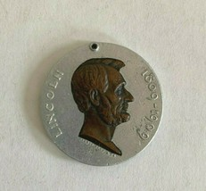 1909 President Abraham Lincoln Centenary Medallion *Missing Pin Back Part* - $37.22
