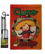Amigo Chili Cinco de Mayo Burlap - Impressions Decorative Metal Garden P... - $33.97