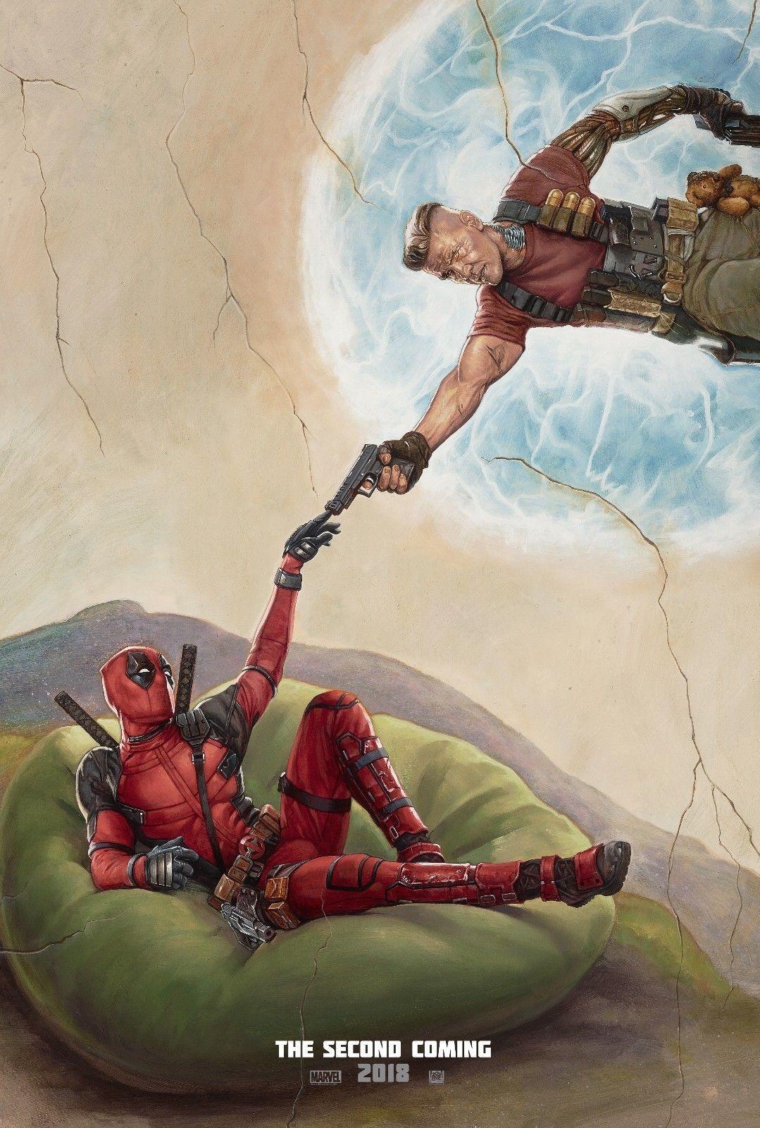 "Deadpool 2 Movie Poster Ryan Reynolds Marvel Film Art Print 13x20"" 27x40"" 32x48"" for sale  USA"