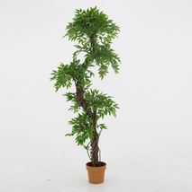 Faux Contemporary Artificial Plants and Trees, Luxury Japanese Fruticosa Tree... - $138.59
