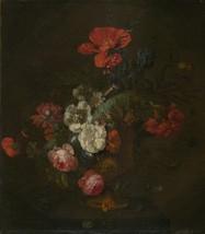 Style of Jan van Huysum - Flowers in a Stone Vase - $22.99 - $229.00