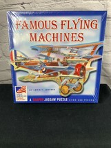 New & Sealed Puzzle 650 Pieces Famous Flying Machines - $19.99