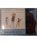 Vintage Book with Bear Set 1989 Sealed Rosen Oxenbury - $12.20