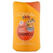 Loreal Kids Shampoo-Tropical Mango (250 Ml) by GIFTSBUYINDIA - $35.32