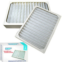 2x HQRP Air Cleaner Filters for Hunter HEPAtech 30057 30059 30067 30078 30079 - $30.95