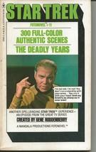 Star Trek Fotonovel #11 Deadly Years ORIGINAL Vintage 1978 Paperback Boo... - $24.74