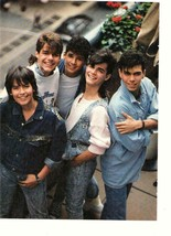 Menudo teen magazine pinup clipping vintage 80's Robby Rosa Ricky Martin... - $3.50