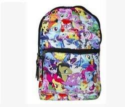 My Little Pony All Over Print Puffy Backpack - $28.70