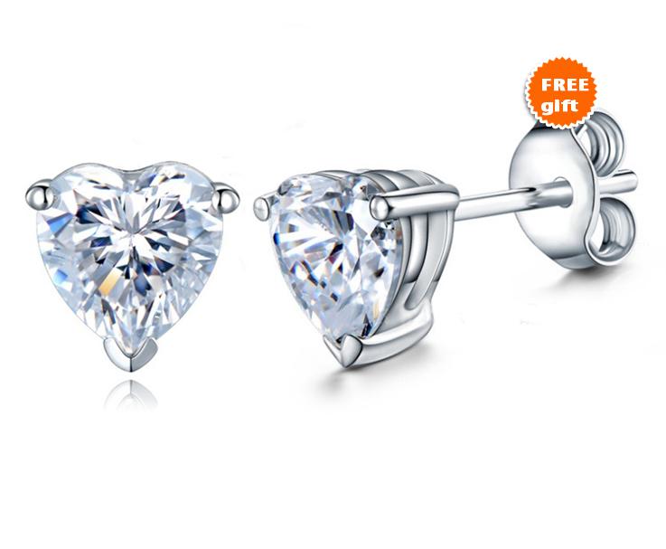 14k Black GP 925 Silver Round Cut CZ Engagement Ring Set Free Shipp & Free Gift