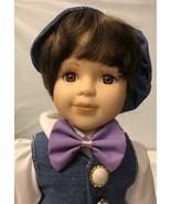 "Vintage A Treasure Heirloom 16"" Porcelain Doll - $14.03"