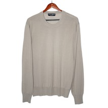 Dolce & Gabbana Beige Wool Jumper Crewneck Sweatshirt Long Sleeve Pullov... - $139.00