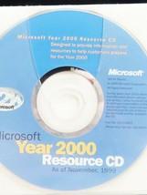 Microsoft Year 2000 Resource Cd - $29.44