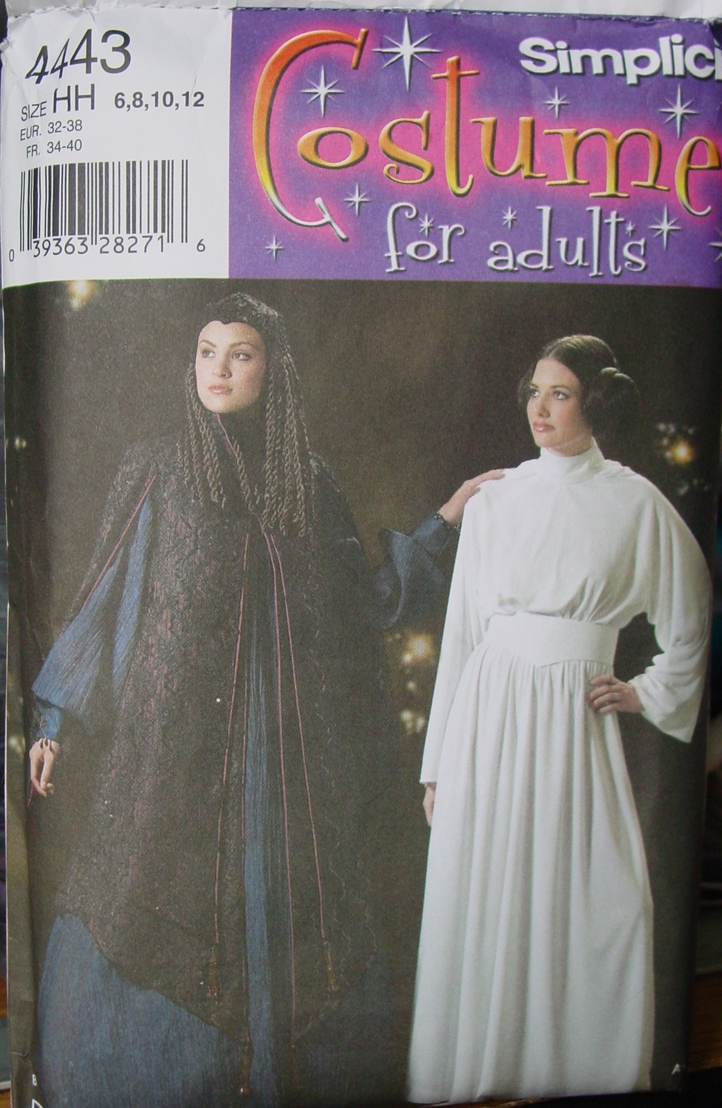 Primary image for Sewing Pattern Costumes Similar to Star Wars sizes 6-12 (Cut)
